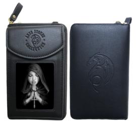 Anne Stokes - Gothic Prayer - Portemonnee + telefoonhoes
