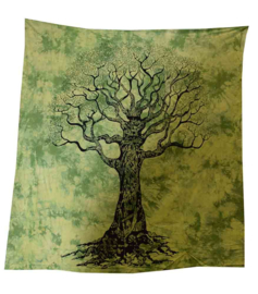 Bedsprei / wandkleed - Tree