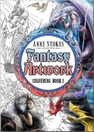 Fantasy Colouring Book 2 - Anne Stokes