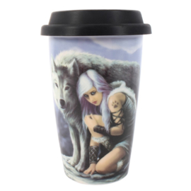 Travel mug - Protector - Anne Stokes