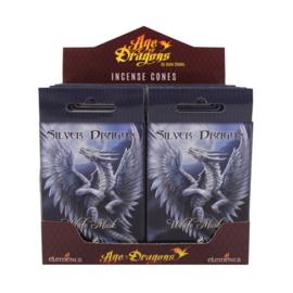 Anne Stokes -  incense cones - Silver Dragon