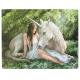 Canvas - Pure Heart- Anne Stokes