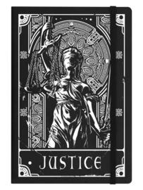 Notitieboek - Deadly Tarot - Justice - A5