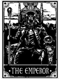 Mini poster - Deadly Tarot - The Emperor