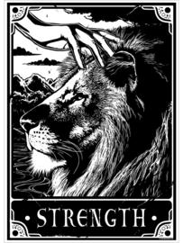 Mini poster - Deadly Tarot - Strength
