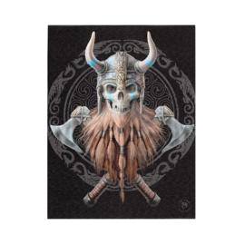 Canvas - Viking Skull - Anne Stokes
