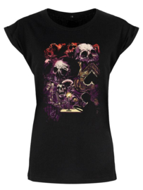 Ladies T-shirt - Ominous Apparitions