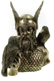Beeld Bronze - Odins Messengers -  23cm