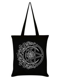 Tote bag - Requiem Collective Monochrome Pentacle