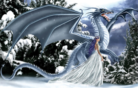 Puzzel - Ice Dragon - Nene Thomas
