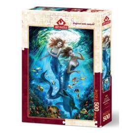 Puzzel - Mermaids - Art puzzle