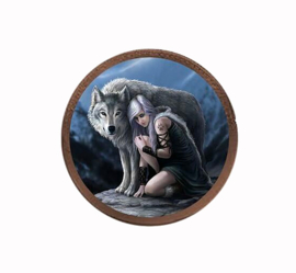 Anne Stokes - Protector - Coin purse