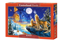Puzzel - Howling Wolves - Castorland