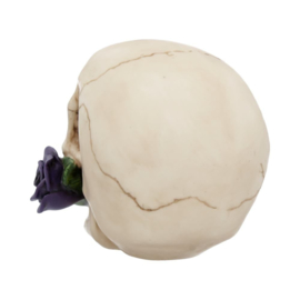 Schedel - Purple Rose from the Dead - 15cm