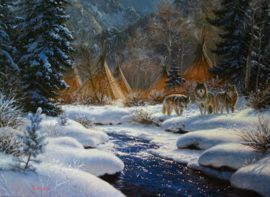 Puzzel - Winter Intruders - Mark Keathley