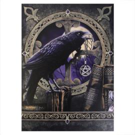 Canvas 50x70cm  - Talisman Raven - Lisa Parker