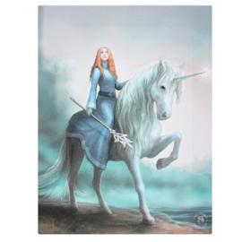 Canvas - Journey Starts - Anne Stokes