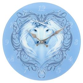 Wandklok - Unicorn Heart - Anne Stokes