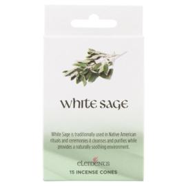 Elements - White Sage -  incense cones