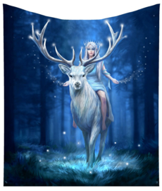 Fleece deken - Fantasy Forest - Anne Stokes