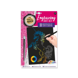 Engraving art kit - Unicorn - Grafix