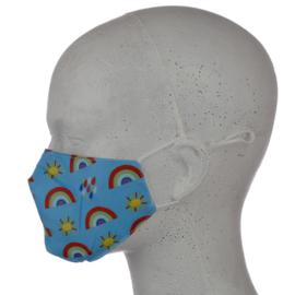 Mondmasker - Regenboog - Klein