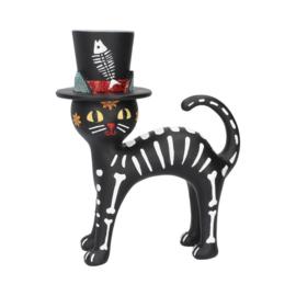 Beeld - Cat in a Hat - 20,7cm