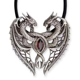 Hanger - Dragon's Heart - 925 silver