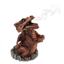 Red Dragon - Incense cone houder