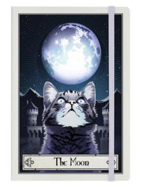 Notitieboek - Deadly Tarot Felis - The Moon - A5
