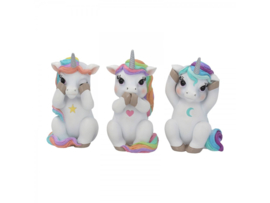 Three Wise Cutiecorns 9,5cm