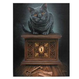 Canvas - Pandora's Box - Lisa Parker
