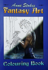 Fantasy Colouring Book - Anne Stokes