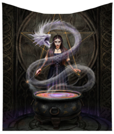 Fleece deken - The Summoning - Anne Stokes