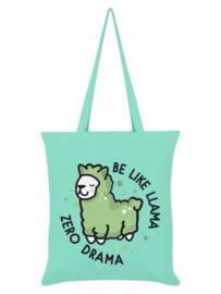 Tote bag - Be Like Llama Zero Drama