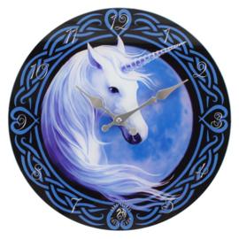 Wandklok - Celtic Unicorn - Anne Stokes