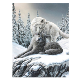 Canvas - Snow Kisses - Lisa Parker