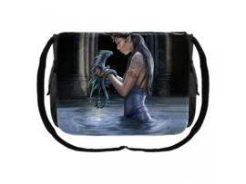 Messenger Bag - Water Dragon - Anne Stokes