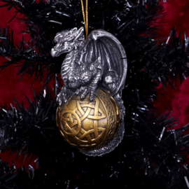 Kerstballen - Balthazar - 10,16cm