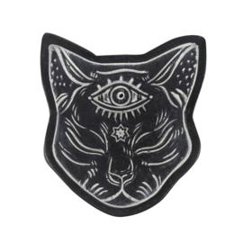 Mystical Cat Face - Wierookhouder