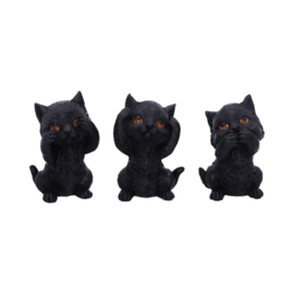 Three Wise Kitties - 8,8cm