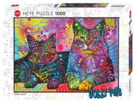 Puzzel - Devoted 2 Cats - Heye