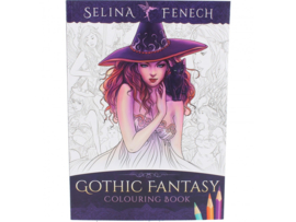 Colouring Book - Gothic Fantasy - Selena Fenech