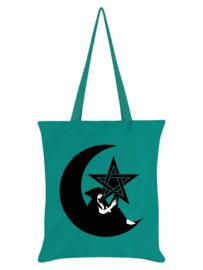 Tote bag - Pentagram Witch Emerald