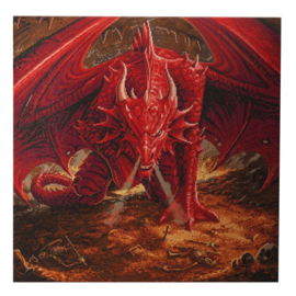 Crystal Art Kit - Dragons Lair - Anne Stokes