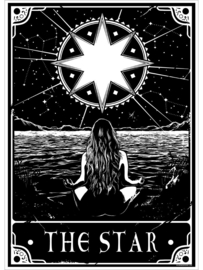 Mini poster - Deadly Tarot - The Star
