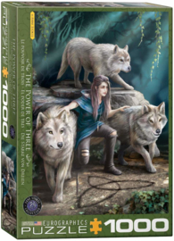 Puzzel - The Power of Three - Anne Stokes
