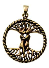 Tree Of Love - hanger - Brons