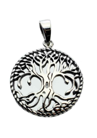 Tree of Life hanger - Sterling Zilver
