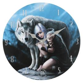 Wandklok - Protector - Anne Stokes
